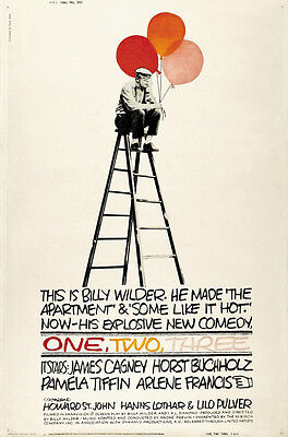 $ CDN6.88 • Buy One, Two, Three (1961) James Cagney Movie Poster Print 3