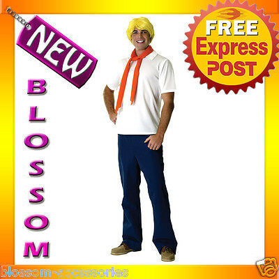 C57 Mens Scooby-Doo Fred Halloween Fancy Dress Adult Costume  • 33.95£