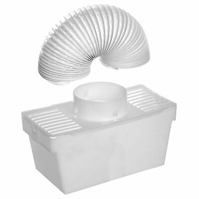 £8.20 • Buy Universal Tumble Dryer Condenser Vent Kit Box With Hose Fits All Dryer Makes