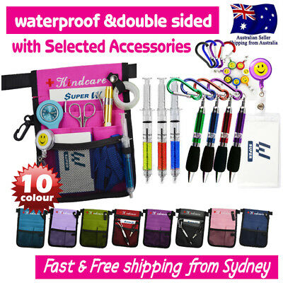 AU10.98 • Buy Nurses Pouch Waist Bag Extra Pocket Quick Pick Bag With Selected Accessories
