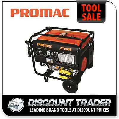 AU2590 • Buy PROMAC 6.8KVA Pure Sine Wave RCD Weather Proof Outlets Torini 13HP Engine GT068E
