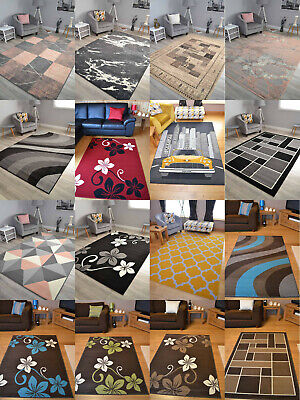 Extra Large Small Medium Size Floor Carpets Cheapest Big Cheap Rugs Mats Online • 19.99£