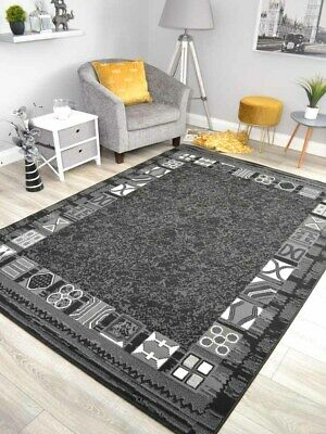 £11.95 • Buy New Black Grey Small Extra Large Big Huge Size Floor Carpet Rugs Rug Mat Cheap