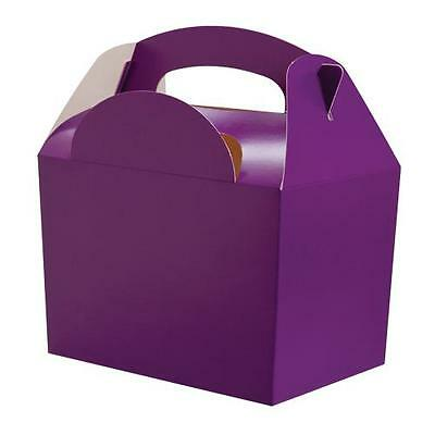 £3.25 • Buy Cadbury Purple ~ Children Birthday Party Meal Boxes Lunch Food Gift Loot Bag Box