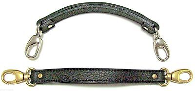 5/8  LOBSTER Clasp Replacement Leather Handbag / Brief  Handle / Hand Strap USA • 18.05£