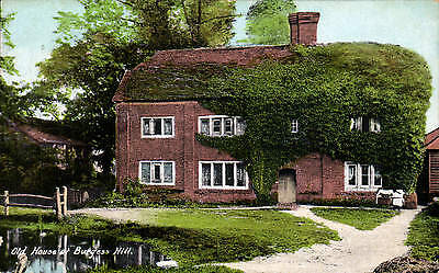 Burgess Hill. Old Houses By A.H. Homewood, Burgess Hill. • 9.50£