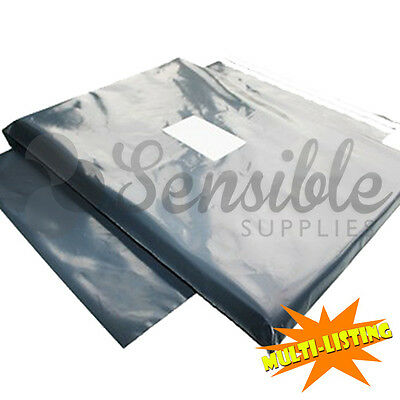 Strong Mailing Postage Bags Quality Grey Plastic Poly Self Seal Fast & Free P+p • 4.29£