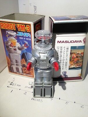 $ CDN123.84 • Buy Lost In Space B9 Or Ym-3  4 Inch Wind Up Robot Model Action Figure
