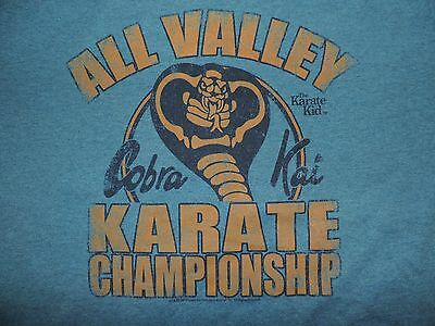 $19.99 • Buy The Karate Kid T-Shirt All Valley Karate Championship Cobra Kai Retro 80's Tee