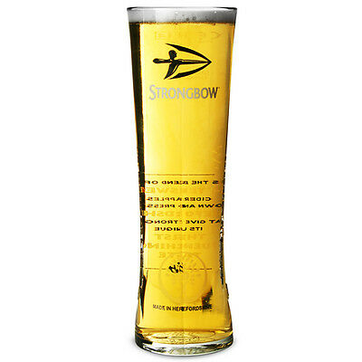 Personalised Engraved 1 Pint Branded Strongbow Heritage Cider Glass & Gift Box • 11.95£