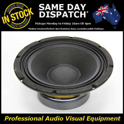 AU49.90 • Buy 8  150WRMS PA DJ Speaker Subwoofer Sub Driver 8 Inch 8 Ohms Quality Replacement