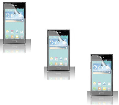 $4.98 • Buy 3 X Clear Screen Protector For LG Optimus Showtime L86C L86G / Venice LG730