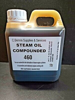 £8.75 • Buy British Steam Cylinder Oil Compounded Medium 460 Grade For Mamod Wilesco