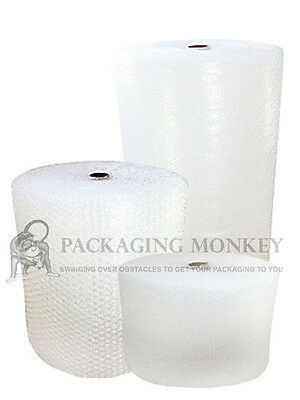 £9.20 • Buy SMALL & LARGE BUBBLE WRAP 300mm 500mm 750mm 1000mm 1200mm 1500mm X 10M 50M 100M