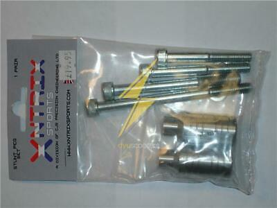 Two Silver Stunt Pegs With 2 Sets Of Axle Bolts  • 12.99£