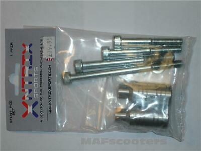 £12.99 • Buy Two Silver Stunt Pegs With 2 Sets Of Axle Bolts