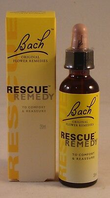Bach Rescue Remedy 20ml Six Pack. BBE 2024 • 56.99£