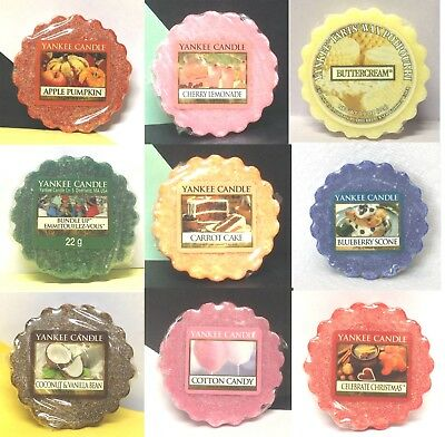 (A-C) Yankee Candle TARTS WAX MELTS Potpourri Tart VARIETY (A - C SCENT CHOICES) • 2.10£