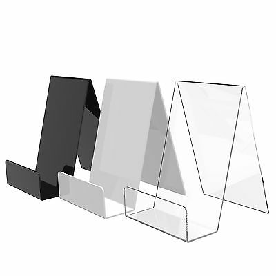 Acrylic Book, Plate, Phone Display Stand Perspex Plastic Retail Cookbook Holder • 5.76£