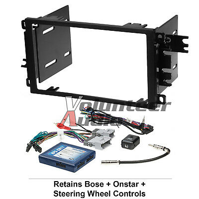 $128.74 • Buy Car Radio Stereo CD Player Dash Install Mounting Trim Bezel Panel Kit + Harness