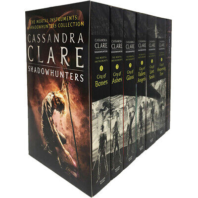 £18.88 • Buy Cassandra Clare The Mortal Instruments A Shadowhunters 7 Books Collection Set