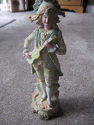 A Beautiful Painted Bisque Figurine Ref 3193 34cm / 14  • 49.50£