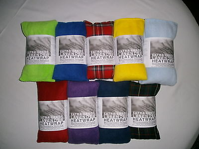 £10.99 • Buy Heat Pack. LARGE  Microwave/Freezable. Lavender & Wheat Bag
