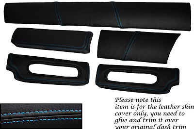 $ CDN191.40 • Buy Blue Stitch Fits Lotus Elise Exige S1 96-01 Five Piece Dash Kit Covers Only