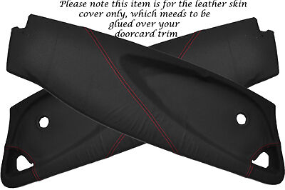 $ CDN171.45 • Buy Red Stitch Fits Lotus Elise Exige S2 01-12 2x Door Card Perforated Covers