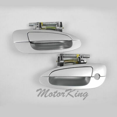 $39.40 • Buy MotorKing Door Handle For NISSAN ALTIMA Outside Front Pair KY1 Silver DS269