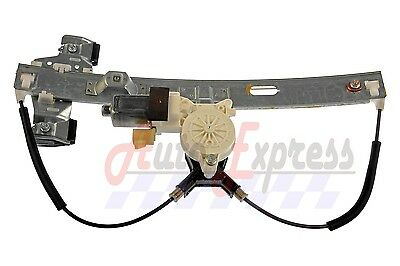$96.89 • Buy New Rear Left Driver Side Power Window Regulator W/ Motor For Pontiac Grand Prix