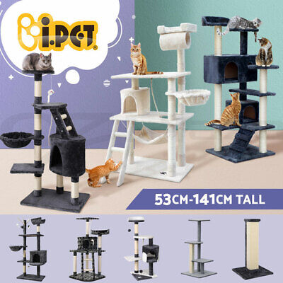 AU84.90 • Buy I.Pet Cat Tree Trees Scratching Post Scratcher Tower Condo House Furniture Wood