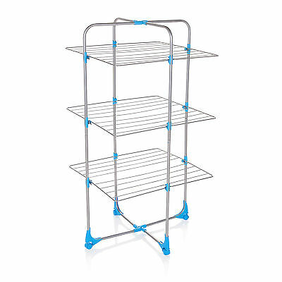 £24.99 • Buy Minky Tower Indoor Airer 15m Drying Space - Silver