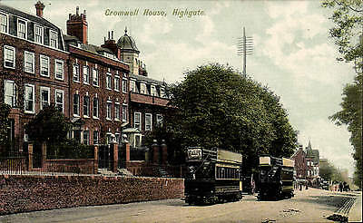 £12 • Buy Highgate. Cromwell House # 1119 By Charles Martin. Trams.