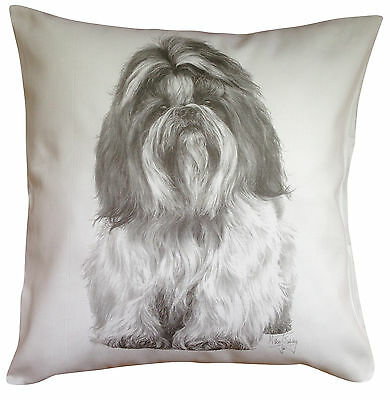 £14.99 • Buy Shih Tzu MS Breed Of Dog Themed Cotton Cushion Cover - Perfect Gift