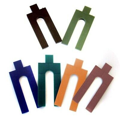 £7.21 • Buy 100 Pack Colour Coded Plastic Packers Wedge Spacers - Window / Glazing / Glass