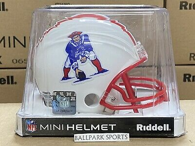 $25.99 • Buy NEW ENGLAND PATRIOTS (1990-92 Throwback) Riddell VSR4 Mini Helmet