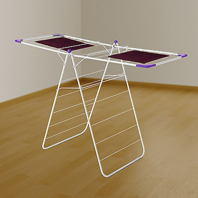£19.99 • Buy Minky Essential X Wing 14m Indoor Clothes Airer White