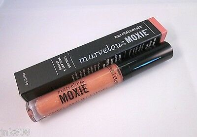 £13.46 • Buy Bare Minerals MARVELOUS MOXIE Lipgloss * ROCK STAR * Pink Peach ~ Full Size NEW