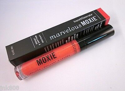 £11.34 • Buy Bare Minerals MARVELOUS MOXIE Lipgloss * SIREN * Loud Coral ~Full Size 4.5ml NEW