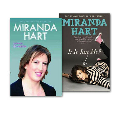 £20.99 • Buy Miranda Hart 2 Books Collection Gift Set, Is It Just Me And The Biography Unauth