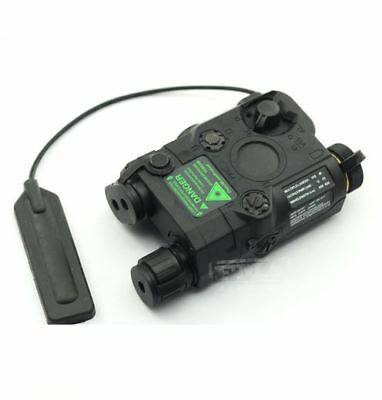 Airsoft Peq-15 Laser Light Torch Ir Pressure Pad Ris 20Mm Rail M Series Black • 42.95£