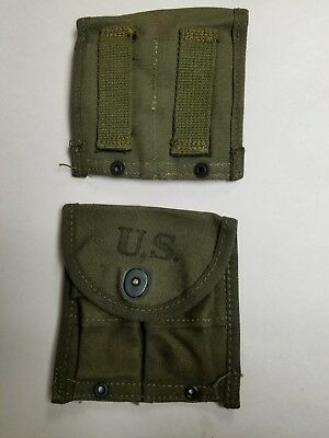 $24.95 • Buy  Us Gi Wwii M1 Carbine O.d. Belt Pouch Marked Avery 1945 Dated