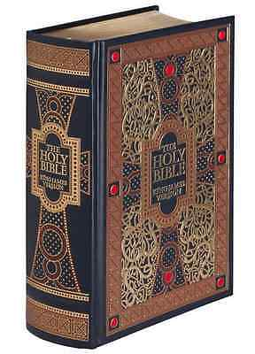 AU64.95 • Buy THE HOLY BIBLE: King James Version KJV Illustrated Gustave Dore ~SEALED LEATHER~