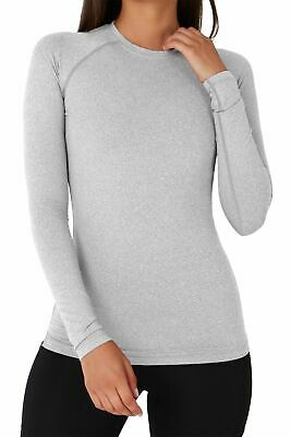 Women's TCA SuperThermal Long Sleeve Thermal Base Layer Running Training Top • 17.99£