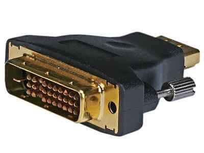 $7.99 • Buy Monoprice M1-D(P&D) Male To HDMI Female Adapter (Gold Plated)