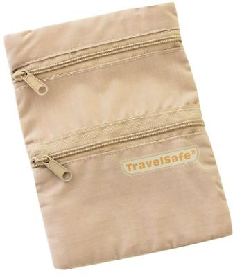 TravelSafe Travel Neck Pouch Security Pocket • 6.59£