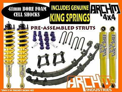 AU1050 • Buy 2INCH LIFT KIT For NISSAN D40 NAVARA 2005-ON ARCHM4X4 XTREME 50mm F&R SUSPENSION