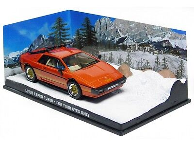 $ CDN28.13 • Buy Wonderful Modelcar Diorama LOTUS ESPRIT TURBO - 007  - Copper Metallic - 1/43