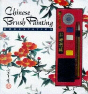 Chinese Brush Painting Workstation Paperback Book The Cheap Fast Free Post • 14.99£